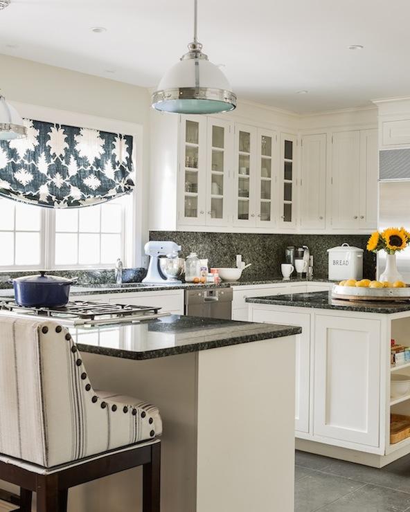 Ivory Kitchen Cabinets  Transitional  kitchen  Erin Gates Design