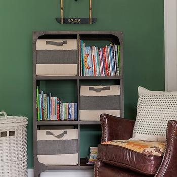 Industrial Bookcase, Transitional, boy's room, Erin Gates Design