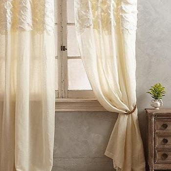 Smocked Torrey Curtain I anthropologie.com