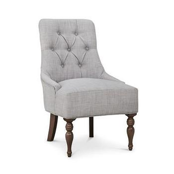 Threshold Tufted English Chair, Gray I Target
