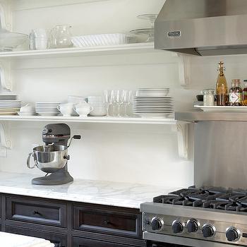 KItchen Shelving Ideas, Transitional, kitchen, Thompson Custom Homes