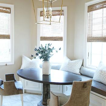 Breakfast Nook Banquette, Transitional, dining room, Marie Flanigan Interiors