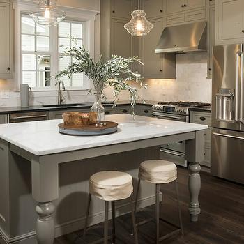 Khaki Cabinets, Transitional, kitchen, Palmetto Bluff