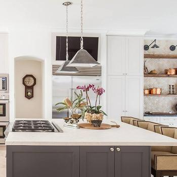 Urban Electric Company Gibson, Transitional, kitchen, Marie Flanigan Interiors