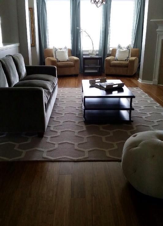 Modern Living Room Ralph Lauren Cinder Block Self