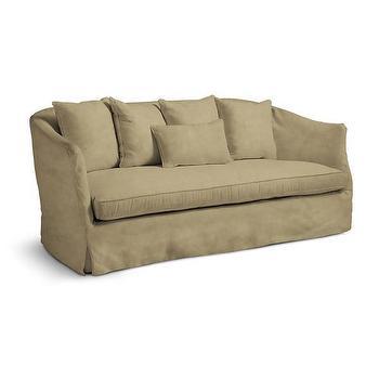 Seating - Cumulus Sofa I Wisteria - curved back velvet sofa, khaki velvet sofa, curved velvet sofa, curved back sofa,