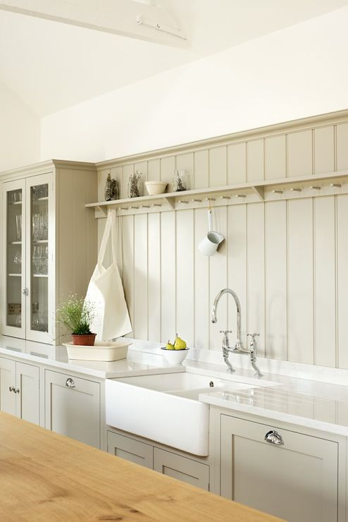 tongue and groove backsplash country kitchen devol