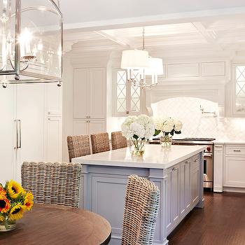 Combined Kitchen and Dining Room, Transitional, kitchen, Chango & Co.