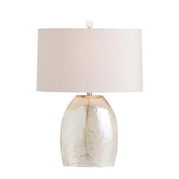 Lighting - ARTERIORS Home Jean Table Lamp I AllModern - tapered glass table lamp, gray glass table lamp, glass luster table lamp,