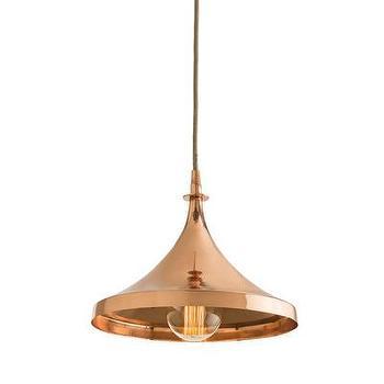 Lighting - ARTERIORS Home Lennox 1 Light Mini Pendant | AllModern - copper pendant light, modern copper pendant, mini copper pendant light,