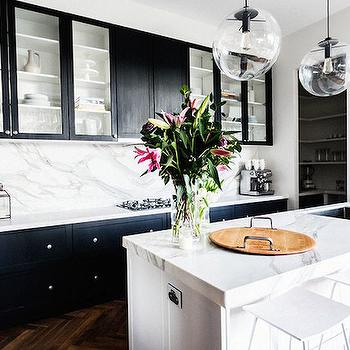 Black and White KItchens, Transitional, kitchen, The Block Glasshouse