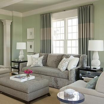 Modern, living room, Sherwin Williams Frostwork, Bear Hill Interiors