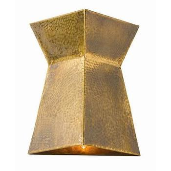 Lighting - ARTERIORS Home Grant 3 Light Wall Sconce | AllModern - vintage brass wall sconce, etched brass wall sconce, modern brass wall sconce,