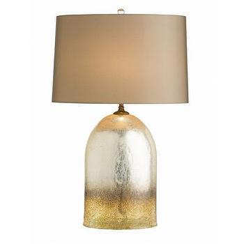 Lighting - ARTERIORS Home Eisler Table Lamp I AllModern - gold and silver table lamp, bullet shaped table lamp, amber and silver table lamp, modern metallic table lamp,