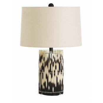 Lighting - ARTERIORS Home Esparto Table Lamp I AllModern - porcupine table lamp, porcupine quill table lamp, black and white table lamp,