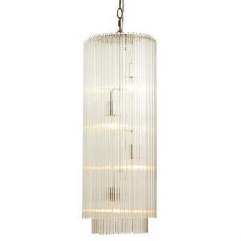 Lighting - ARTERIORS Home 4 Light Convertible Pendant | AllModern - glass rod pendant light, modern glass rod pendant, linear glass rod pendant light,