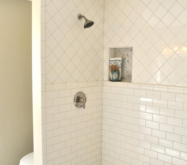 Shower Pencil Rail Transitional Bathroom Rafterhouse