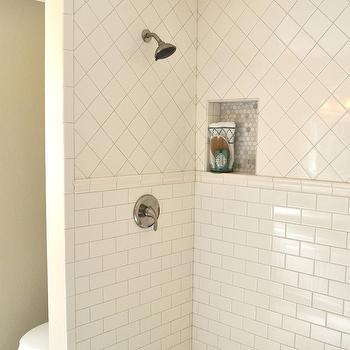 Shower Pencil Rail, Transitional, bathroom, My Rafter House