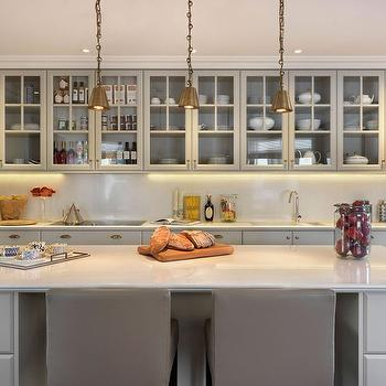 Light Grey KItchens, Contemporary, kitchen, Finchatton