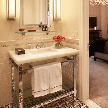 Urban Archaelogy Metropolitan Washstand, Transitional, bathroom, Seldom Scene Interiors