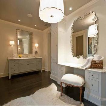 Built In Dressing Table, bathroom