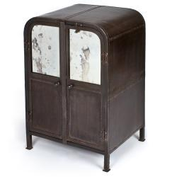 Storage Furniture - Iron Cabinet (India) | Overstock - iron cabinet, industrial iron cabinet, iron mirrored cabinet, mirror front industrial cabinet,