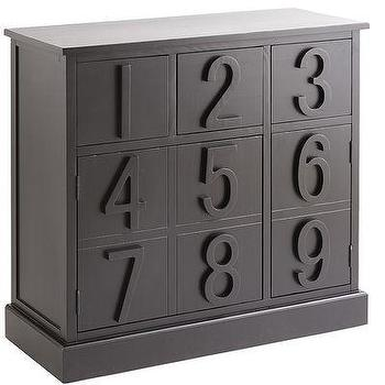 123 Wine Cabinet, Black I Pier One