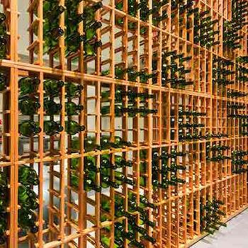 House & Home - basements - wine racks, freestanding wine racks, genuwine wine rack, wine rack ideas, basement wine cellar, basement wine room,