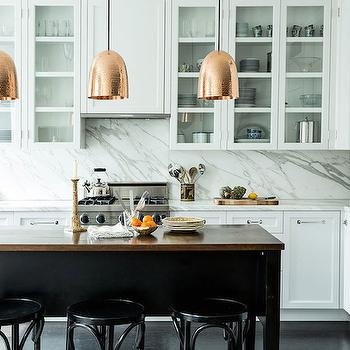 Copper Kitchen Hood Transitional Kitchen Mark Hampton Llc
