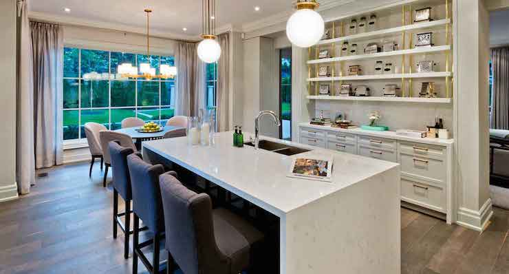Cambria Torquay Transitional Kitchen Benjamin Moore