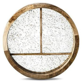 Decor/Accessories - Nate Berkus Antique Mirror Tray I Target - round antiqued mirrored tray, round antique mirror tray, antiqued mirrored tray,