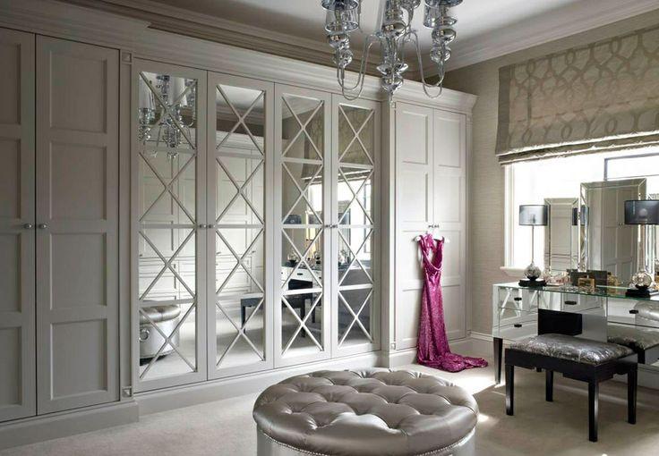 X Mullion Doors Transitional Closet The English Wardrobe