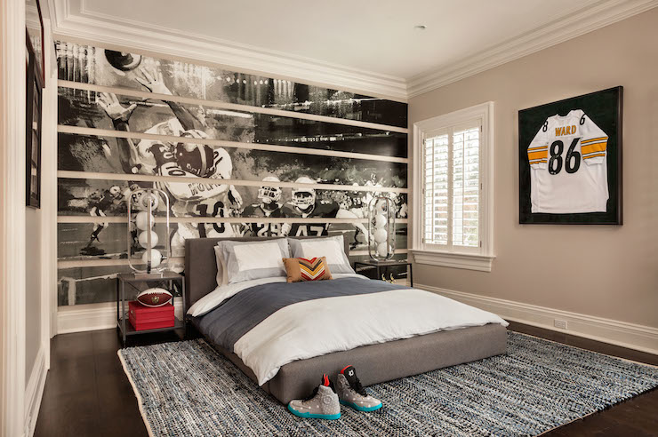Football Wall Murals football bedroom boys 39 bedroom ideas football bedroom bukit home