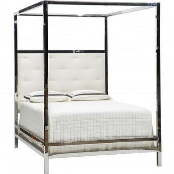 Bernhardt Landon Metal Poster Bed I High Fashion Home