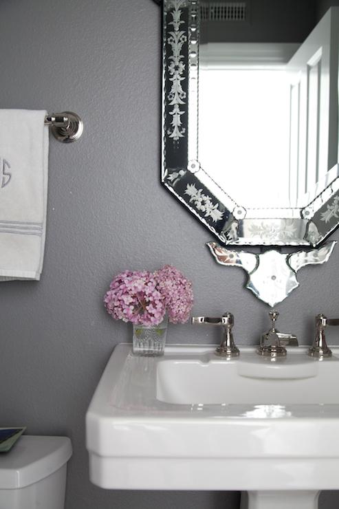Dining room wall mirror