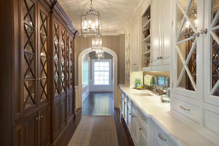 X Mullion Cabinets Transitional Kitchen Yunker