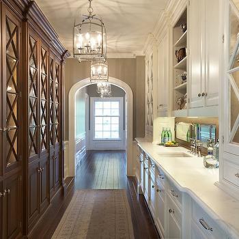 X Mullion Cabinets, Transitional, kitchen, Yunker Associates