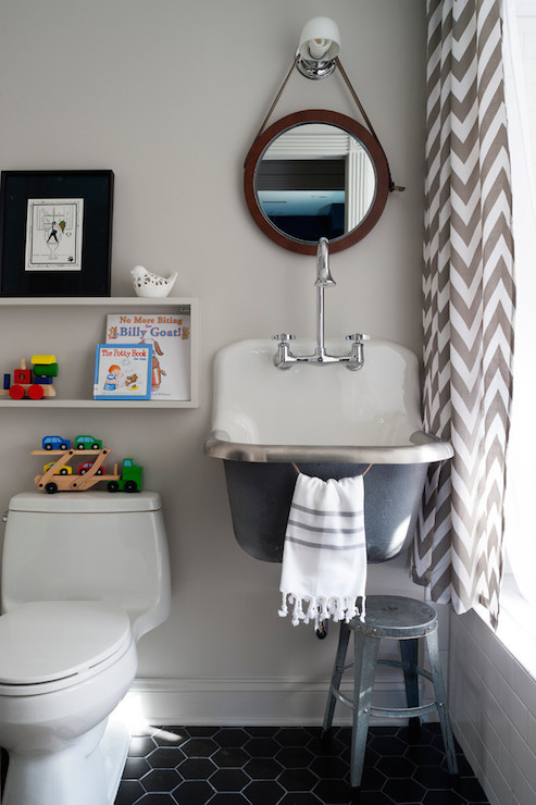 Kohler Bannon Sink Contemporary Bathroom Breeze