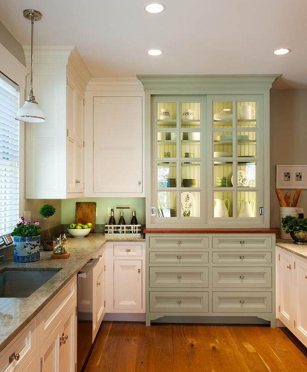 Integrated Hutch Cabinet