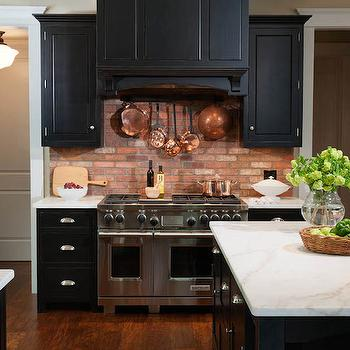 Cooktop Pot Rack, Transitional, kitchen, Crown Point Cabinetry