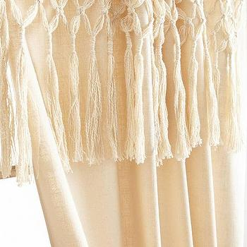Knotted Macrame Curtain I Anthropologie