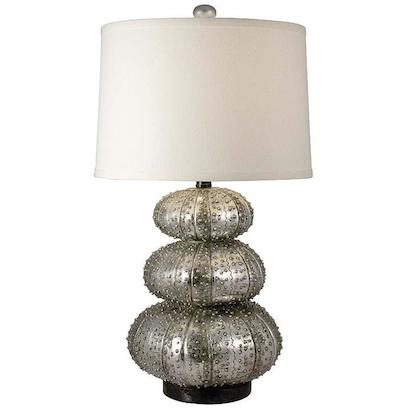 Regina Andrew Stacked Silver Sea Urchin Lamp Look for Less