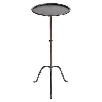 Tables - Metal Martini Table - Brown I Target - iron side table, slim metal side table, metal martini table, martini side table,