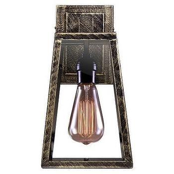 Lighting - Taylor Wall Light Bronze I Target - bronze wall light, bronze wall sconce, industrial bronze wall sconce,