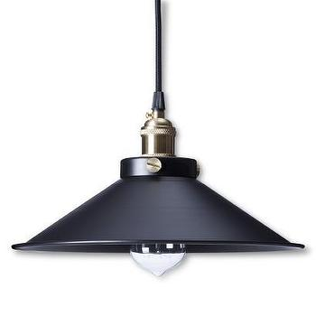 Lighting - Kim Pendant Light Black I Target - black pendant light, black industrial pendant, industrial pendant light,