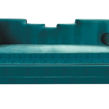 Seating - Bella Sofa design by BD Fine | Burke Decor - teal green sofa, teal green velvet sofa, modern teal green sofa,