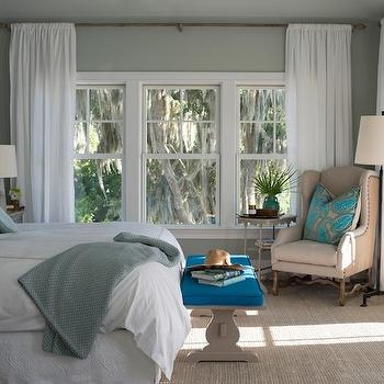 Neutral Paint Colors Transitional Bedroom Benjamin