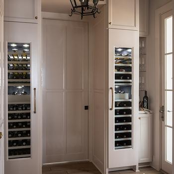 Thermador Wine Columns, Transitional, kitchen, Benjamin Moore Hazelwood, Reu Architects