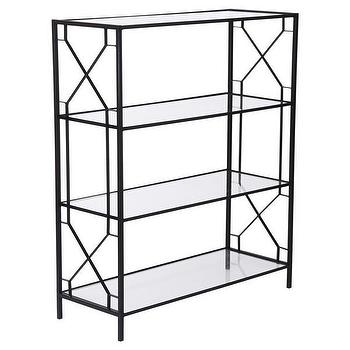 Wilton Shelf w/ Glass Shelves design by Emissary I Burke Decor