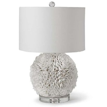 Regina Andrew Mosaic Seashell Sphere Lamp Look for Less